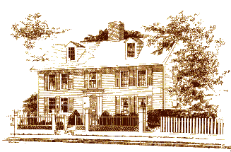 Picture of the Fitch Tavern, Bedford MA